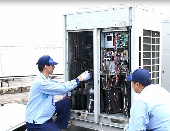惠驰中央空调维保服务