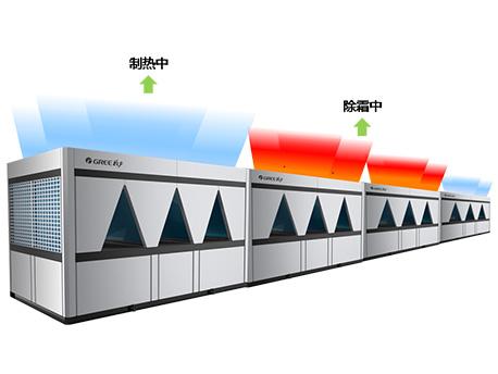 格力D系列模块化风冷冷(热)水机组-冬季不间断制热技术