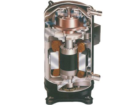 格力MS系列套管式水源热泵涡旋机组-柔性涡旋压缩机