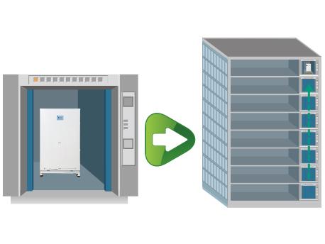 格力MS系列套管式水源热泵涡旋机组-结构优化,体积小