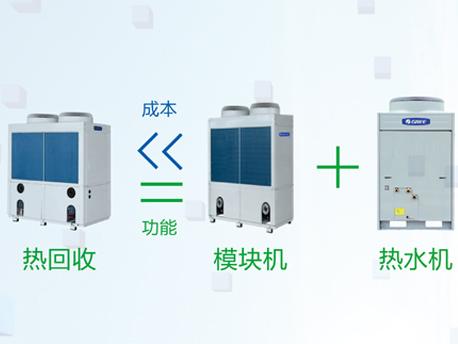 MR系列热回收模块式风冷冷(热)水机组-高投入产出比