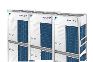 大金中央空调VRVX7 SERIES室外机产品58-66HP