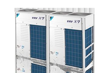 大金中央空调VRVX7 SERIES室外机产品36-44HP