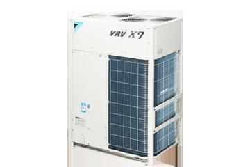 大金中央空调VRVX7 SERIES室外机产品8-12HP