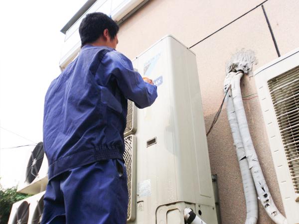 中央空调外机安装